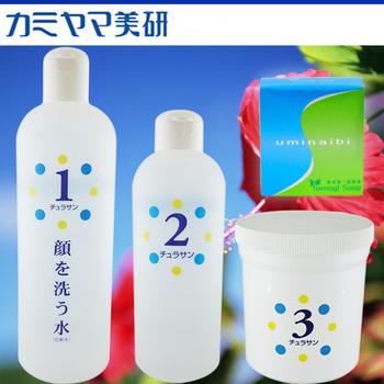 顔を洗う水 チュラサン4品セット