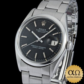 Rolex Datejust Ref.1600 matte black dial, 1969