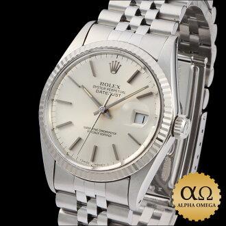 Rolex Datejust watch Ref.16014 Silver Dial, 1985