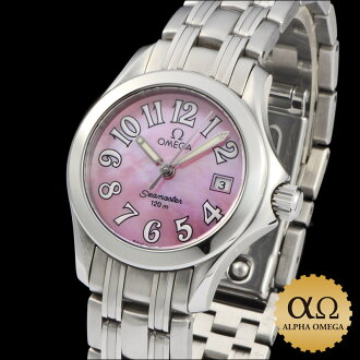 Omega Seamaster 120 m Ref.2581.60 stainless steel pink sheer 1990s