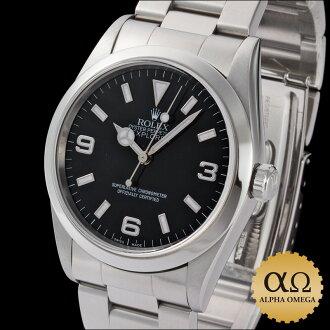 1 Rolex Explorer Ref.14270 stainless steel 1999