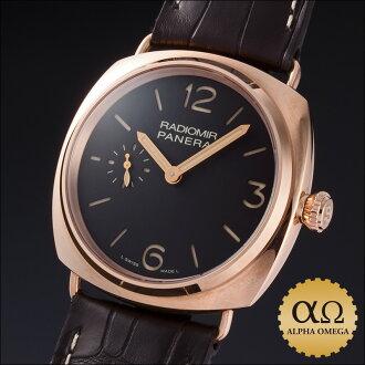 Panerai Radiomir オロロッソ historic collection Ref.PAM00439 red gold 2012