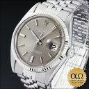 ロレックス [ROLEX] デイトジャスト メンズ腕時計ロレックス デイトジャスト Ref.1601 SS ホワ...