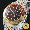 ロレックス [ROLEX] GMTマスター メンズ腕時計ロレックス GMTマスター Ref.16753 ブラウン ダイ...
