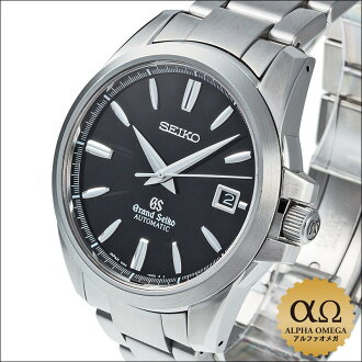 Grand SEIKO 9S mechanical Ref.9S55-00C0, SBGR031 stainless steel black dial 2006
