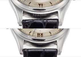 ロレックスオイスターロイヤルRef.4444スチールローマ数字ダイアル1946年Ser.505【中古】【アンティーク】【メンズ】