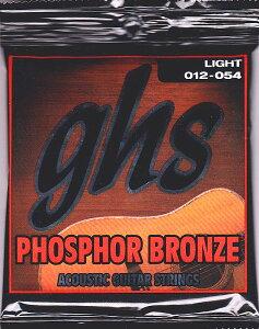 【送料無料】GHS S325/012-54 アコースティックギター弦 ガスブーマー フォスファーブロンズ ...