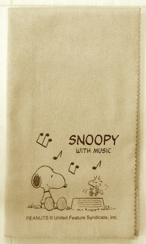 SNOOPY with Music Snoopy SCLOTH-AM instrument for cross-high-quality instruments for cross-Snoopy and note design