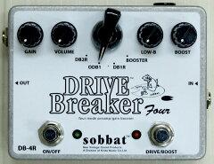 【送料無料】sobbat Drive Breaker Four R SB-DB4R エフェクター ソバット ドライブブレイカー...