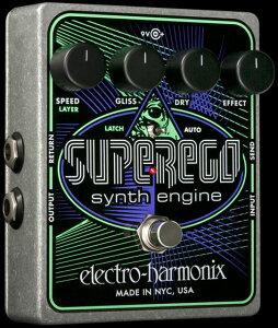 【送料無料】ELECTRO-HARMONIX Superego シンセ・エンジン ギターエフェクター サウンドを様々...