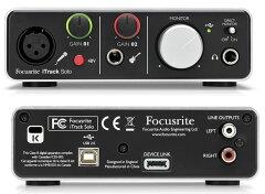 【送料無料】Focusrite iTrack Solo オーディオインターフェイス iPadでボーカルやギター等をレ...