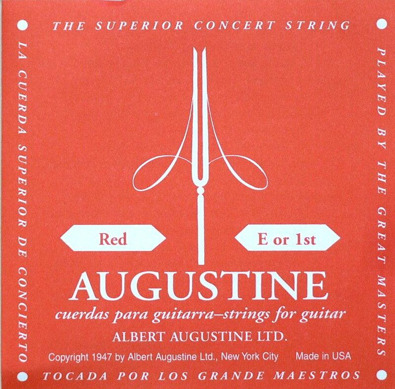 ギター用アクセサリー・パーツ, クラシックギター弦 AUGUSTINE RED 1