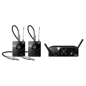 AKG WMS40 PRO MINI2 INSTRUMENTAL SET DUAL 楽器用ワイヤレス 2チャンネルモデル
