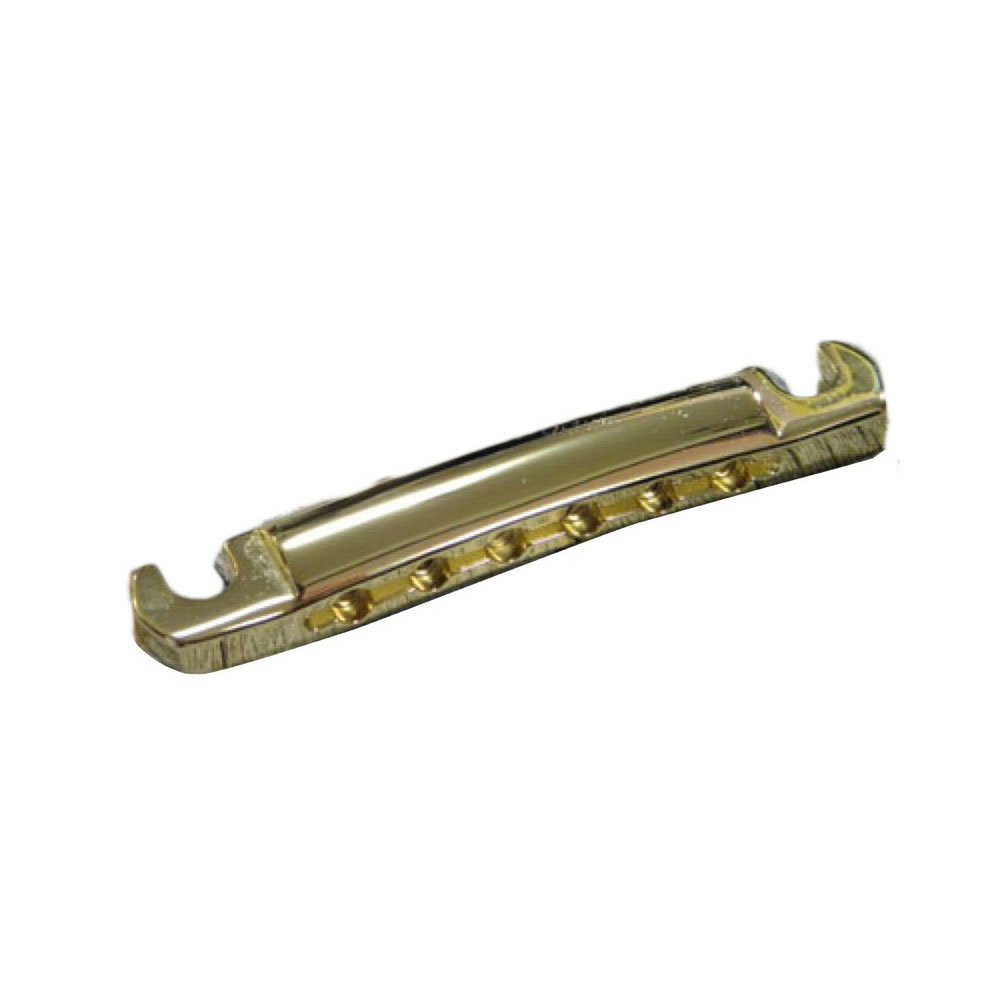 Montreux Light Weight Aluminum Tailpiece Gold ver.2 Time Machine Collection No.8735