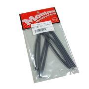 Montreuxスミチューブ4φ黒ツヤ消し1meterNo.1670熱収縮チューブ