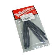Montreuxスミチューブ5φ黒ツヤ消し1meterNo.1671熱収縮チューブ