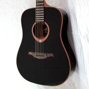 LAGGUITARST100ASCEBRSアウトレットオーディトリアムスリムカッタウェイエレクトリックアコースティックギター