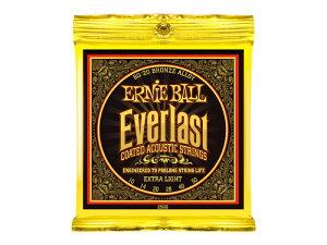 ERNIE BALL 2560 Everlast Coated 80/20 BRONZE ALLOY EXTRA LIGHT アコースティックギター弦