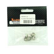 KLUSONBUSHINGSET6.4-8.8/Nickel/HEXAギターペグ用ブッシュ6個セット