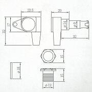 ARIAAT-350Bベース用2対2ペグ