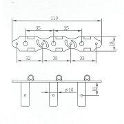 ARIAAT-600Cクラシックギター用糸巻き