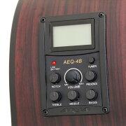 ARIAAB-295AriaDreadnoughtRitterギグバッグ付きエレクトリックアコースティックベース