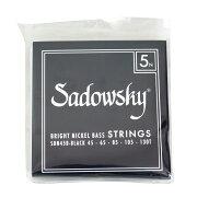 SADOWSKYSBN45BBlackブラックラベル5弦ベース弦