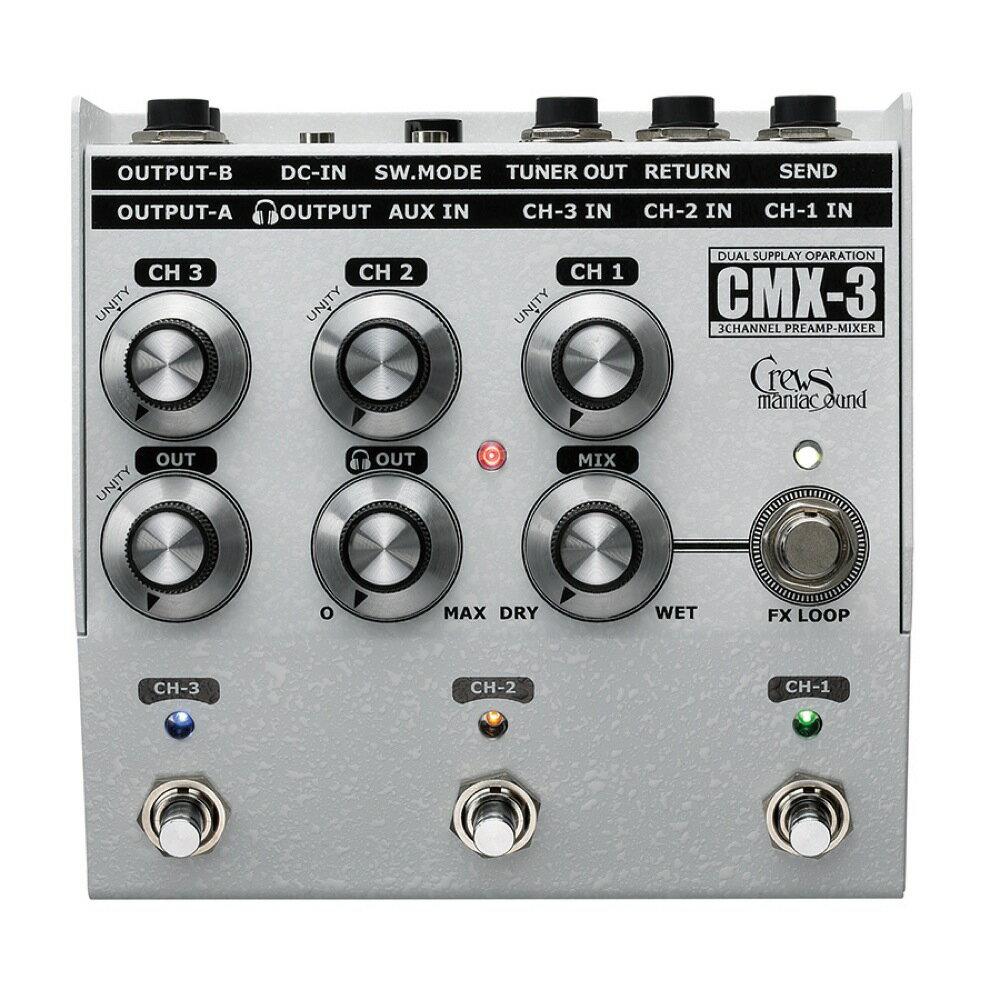ミキサー, デジタルミキサー Crews Maniac Sound CMX-3 3CH FOOT MIXER 3