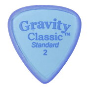 GRAVITYGUITARPICKSClassic-StandardMasterFinish-GCLS2M2.0mmBlue�ԥå�