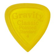 GRAVITYGUITARPICKSClassicPointed-StandardMasterFinish-GCPS4M4.0mmYellow�ԥå�