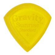 GRAVITYGUITARPICKSSunrise-StandardMasterFinish-GSUS4M4.0mmYellow�ԥå�