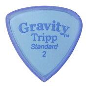 GRAVITYGUITARPICKSTripp-StandardMasterFinish-GTRS2M2.0mmBlue�ԥå�