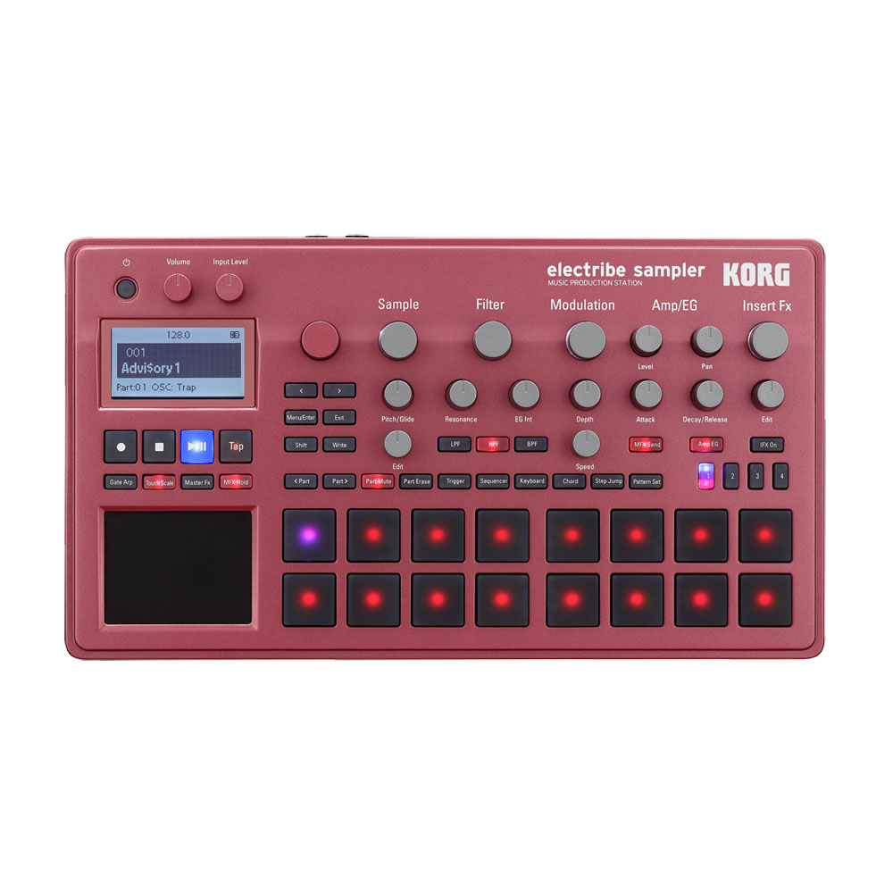 DAW・DTM・レコーダー, サンプラー KORG ELECTRIBE2S-RD MUSIC PRODUCTION STATION ELECTRIBE SAMPLER