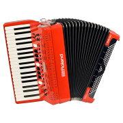 RolandFR-4XRDV-Accordionレッドデジタルアコーディオンピアノ鍵盤タイプ