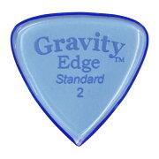 GRAVITYGUITARPICKSEdge-Standard-GEES2P2.0mmBlueピック