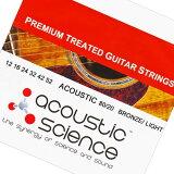 Acoustic Science LACSAG1252 80/20 Bronze Light アコースティックギター弦