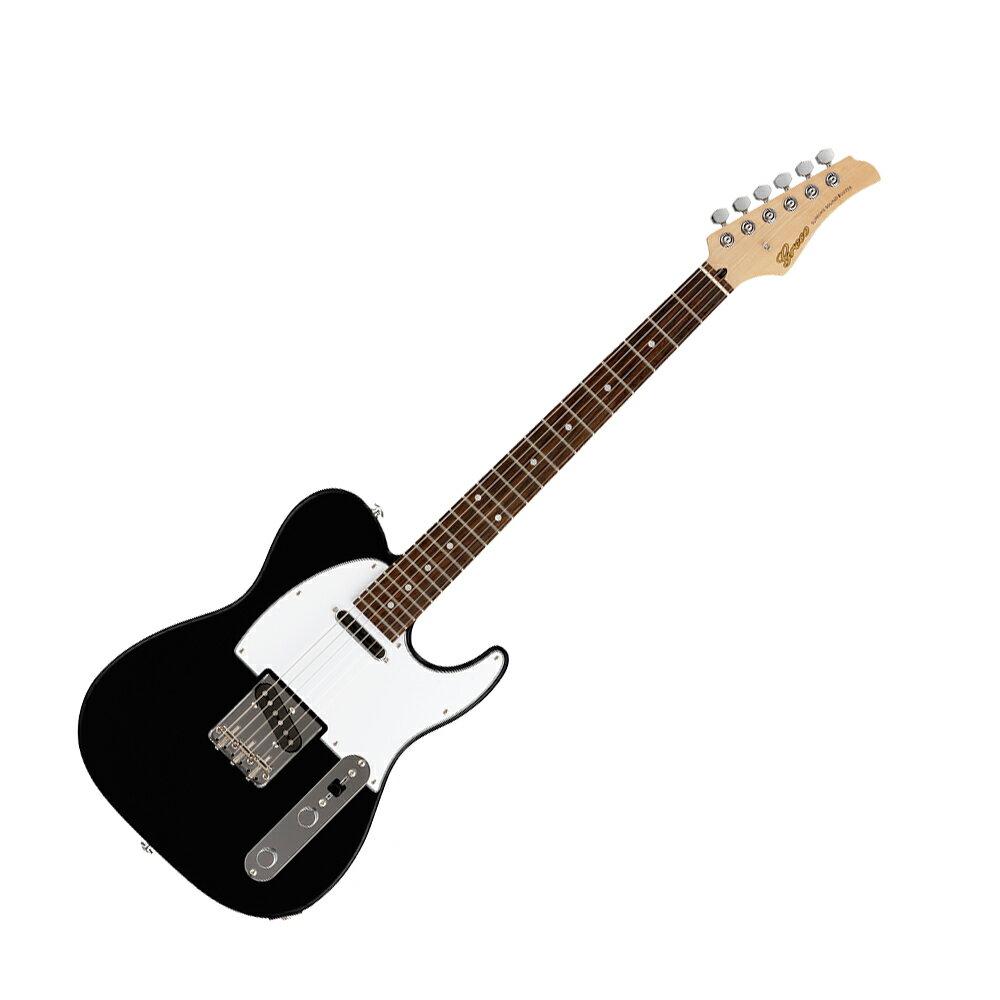 ギター, エレキギター GRECO WST-STD BLK Rosewood Fingerboard