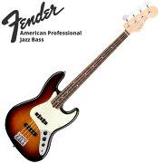 FenderAmericanProfessionalJazzBass3TSRWエレキベース