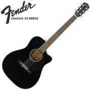 FenderCC-60SCEBLKエレクトリックアコースティックギター