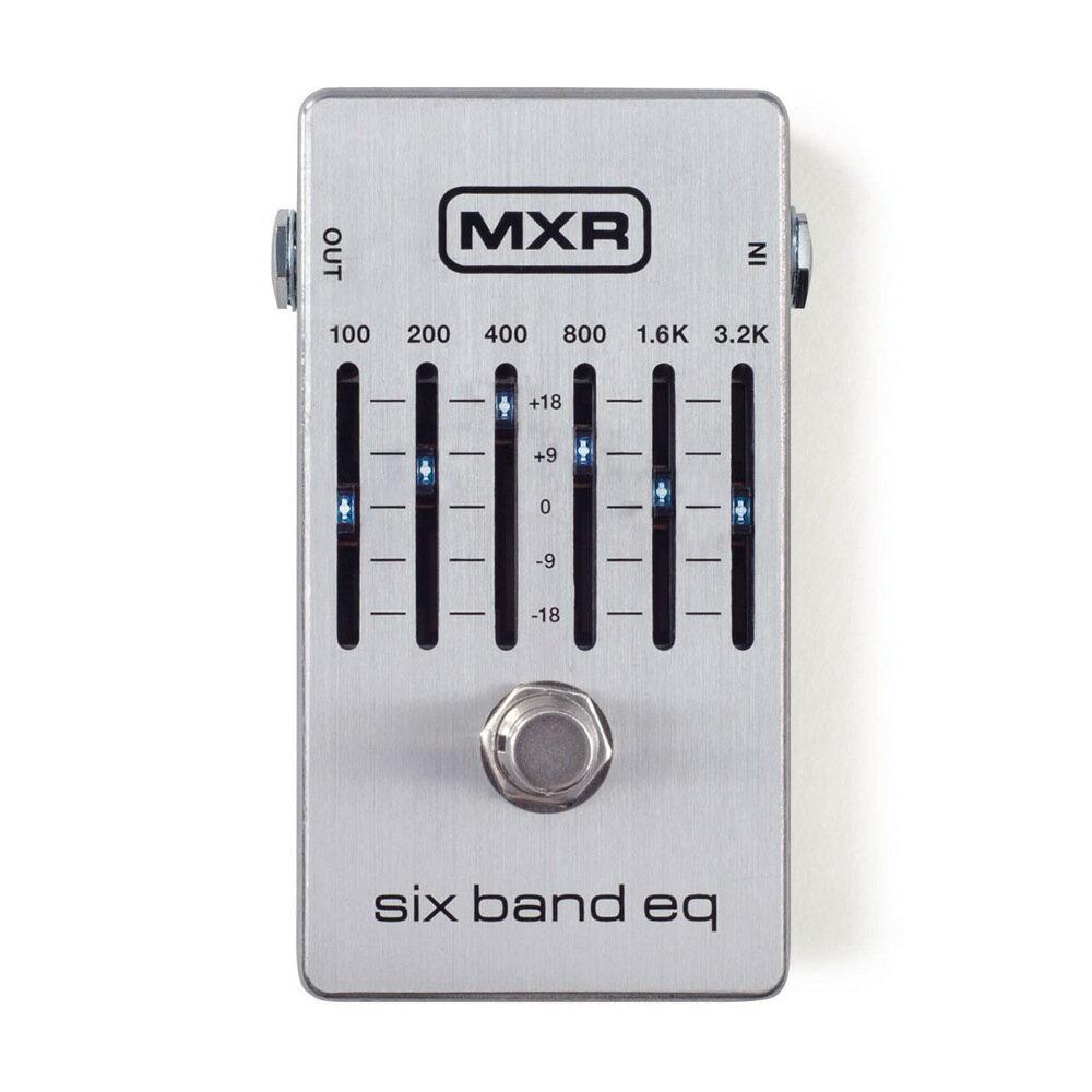 ギター用アクセサリー・パーツ, エフェクター MXR M109S Six Band Graphic EQ 6
