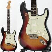 BluesmanVintage'62Sedan3ToneSunburstHeavilyAgedエレキギター