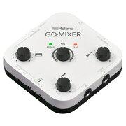 ROLANDGO:MIXERスマートフォン用オーディオミキサー