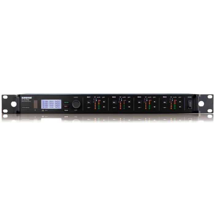 SHURE ULXD4Q-AB ワイヤレス受信機
