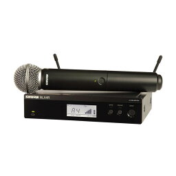 SHURE BLX24R/SM58 BLX Wireless ボーカル・スピーチ用ワイヤレスシステム