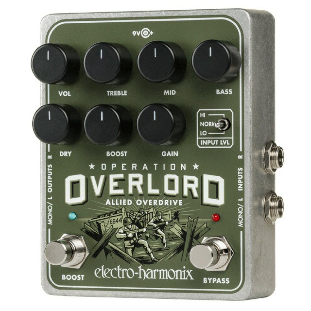 ギター用アクセサリー・パーツ, エフェクター ELECTRO-HARMONIX OPERATION OVERLORD