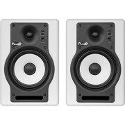 【予約受付中】FluidAudioF5Wバイアンプ(40W+30W)モニタースピーカーホワイトカラー