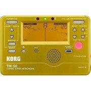 KORGTM-50-GDチューナーメトロノームゴールド