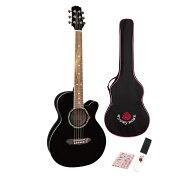 GYPSYROSEGRA1KBKアコースティックギター