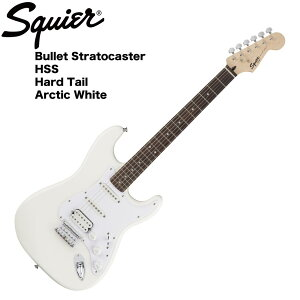 Squier Bullet Strat with Tremolo HSS [Arctic White]