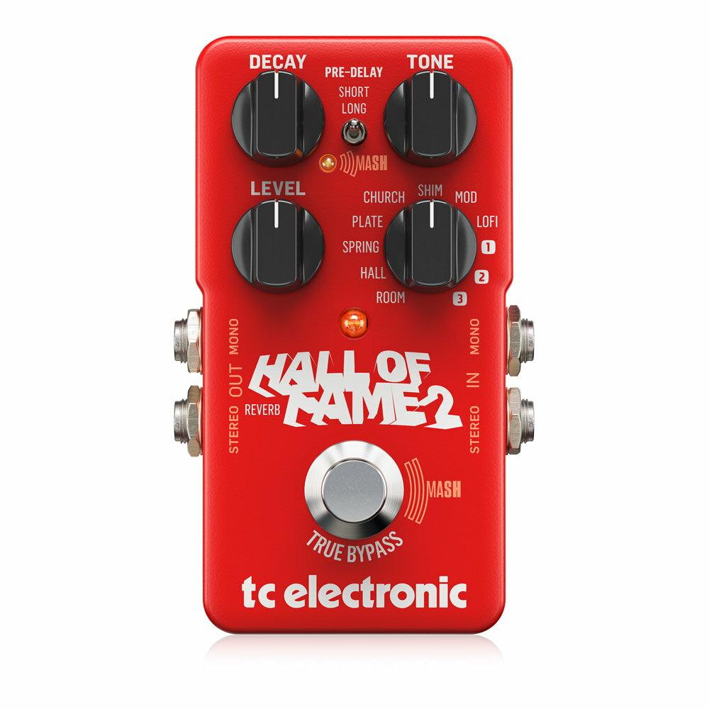 ギター用アクセサリー・パーツ, エフェクター tc electronic Hall of Fame 2 Reverb